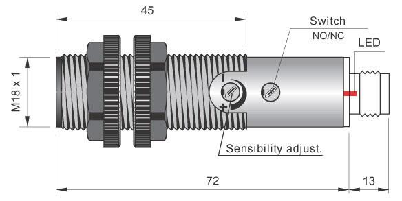 Aeco FT18AR FT18/AR  20-250VAC FOTOCELLULA