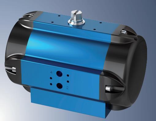 Amg Pesch SAD-45-BR16  Pneumatic Actuator