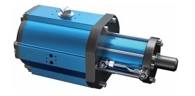 Amg Pesch SAD-HD-40  Double-Piston Quarter Turn Actuator