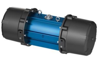 Amg Pesch SADF-45-60  Double-Piston Quarter Turn Actuator