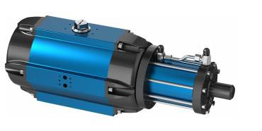 Amg Pesch SAF-HD-45  Double-Piston Quarter Turn Actuator