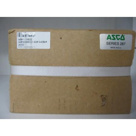 Asco G287A009SCD2 G3/8 0-40BAR 24VDC Solenoid Valve