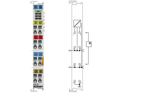BECKHOFF EL4122  2-channel analog output terminal