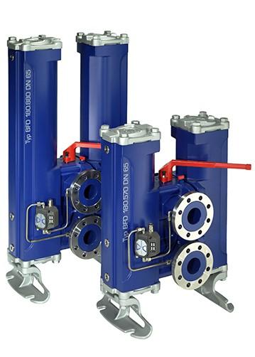 Bollfilter Type: BFD.140.660 DN 50 Duplex filter