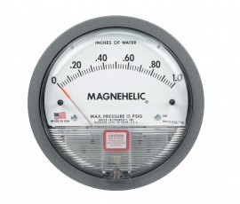 Dwyer 2010D Magnehelic Differential Pressure Gage