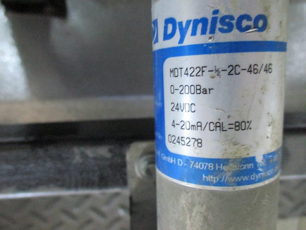 Dynisco MDT422F-1/2-2C-46/46-SIL2 Melt Pressure Transmitters