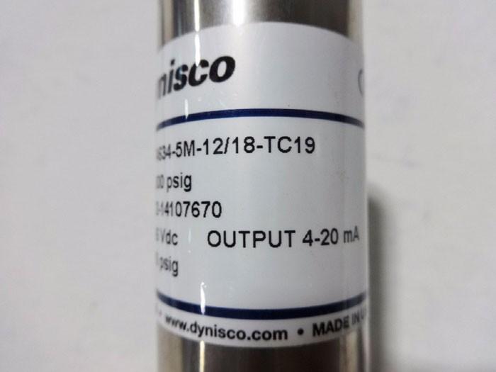 Dynisco TPT4634-3M-6/18-SIL2 Pressure Sensors