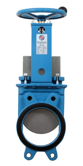Ebro-Armaturen D2G Knife Gate Valve with Two Plates