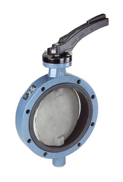 Ebro-Armaturen TW 150/TW 200 Wafer Type Butterfly Valve