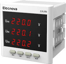 Elecnova S3U96 Three-phase AC voltmeter