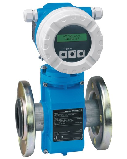 ENDRESS+HAUSER 10L2H-QC0A1AA0A4AA Electromagnetic Flowmeter