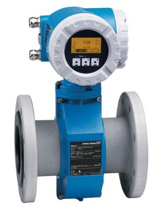 ENDRESS+HAUSER 53W40-LAGB1AA0A7AA Electromagnetic Flowmeter