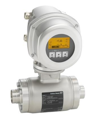 ENDRESS+HAUSER P/N: 50094613 Type: 53H40-1EU0/0 Flowmeter