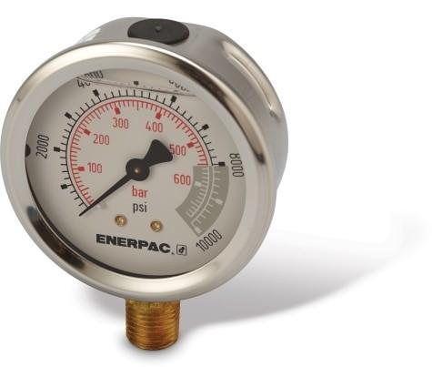 Enerpac G2535L Hydraulic Pressure Gauge
