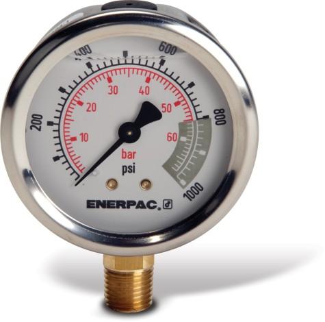 Enerpac G2536L Hydraulic Pressure Gauge