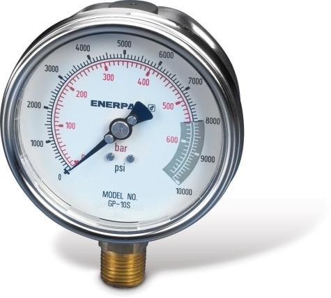 Enerpac GP10S Hydraulic Pressure Gauge