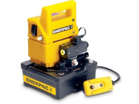 Enerpac PUD1300E Two Speed, Economy Electric Hydraulic Pump