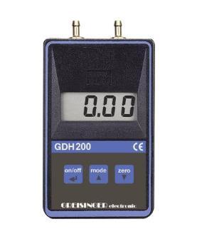 Greisinger GDH200-12  Digital Vacuum /Barometer