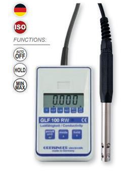Greisinger GLF100RW Conductivity Meter for Ultra-pure Water