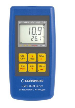 Greisinger GMH3695 Air Oxygen Measuring Device