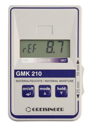 Greisinger GMK210 Material Moisture Measuring Device
