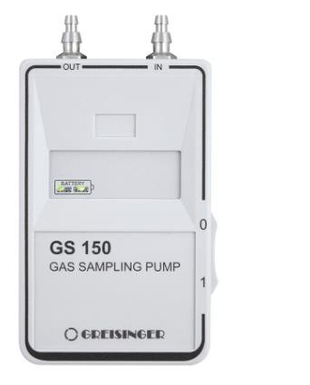 Greisinger GS150 Gas Pump for Gas Sampling