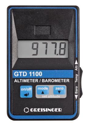 Greisinger GTD1100 Barometer