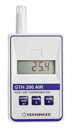Greisinger GTH200AIR Pt1000 Precision Room Thermometer