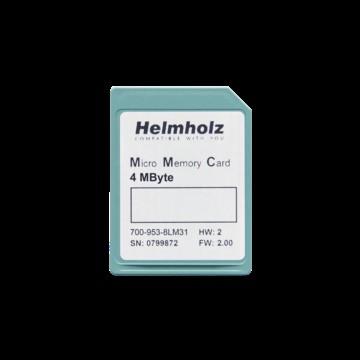 HELMHOLZ 700-953-8LM31 Micro Memory Card, 4 MByte