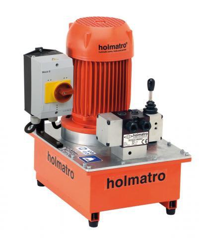 Holmatro 220V, 06 S 12 D, 1-STAGE Vari Pump