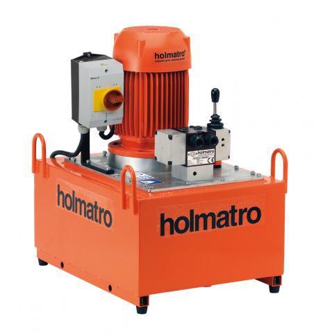 Holmatro 220V, 09 W 25 D, 2-STAGE Vari Pump