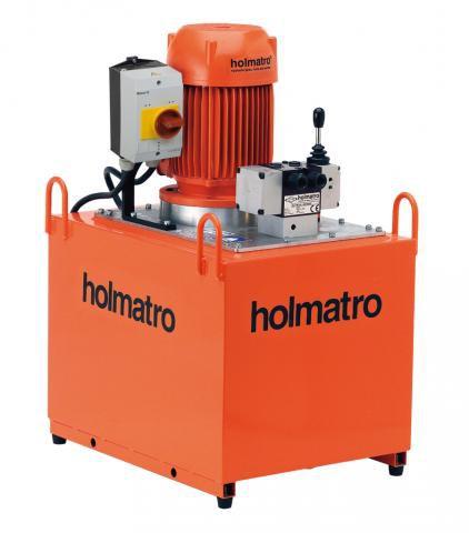 Holmatro 220V, 12 W 50 D, 2-STAGE Vari Pump