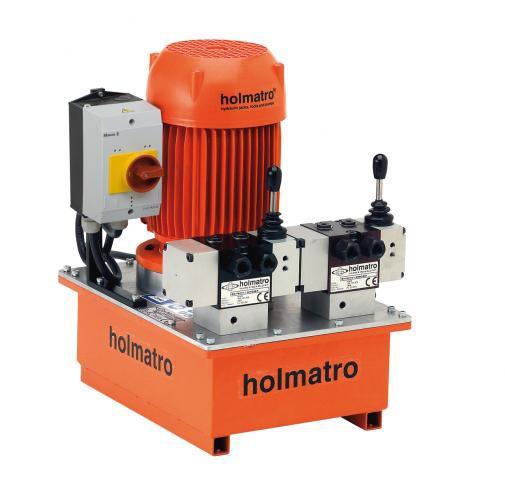 Holmatro 380V, TWIN, 06 T 12 E, 1-STAGE Vari Pump