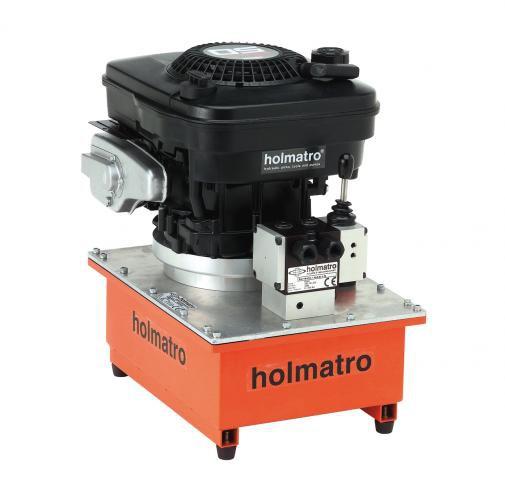 Holmatro  PETROL, 12 W 6 SP, 2-STAGE Vari Pump