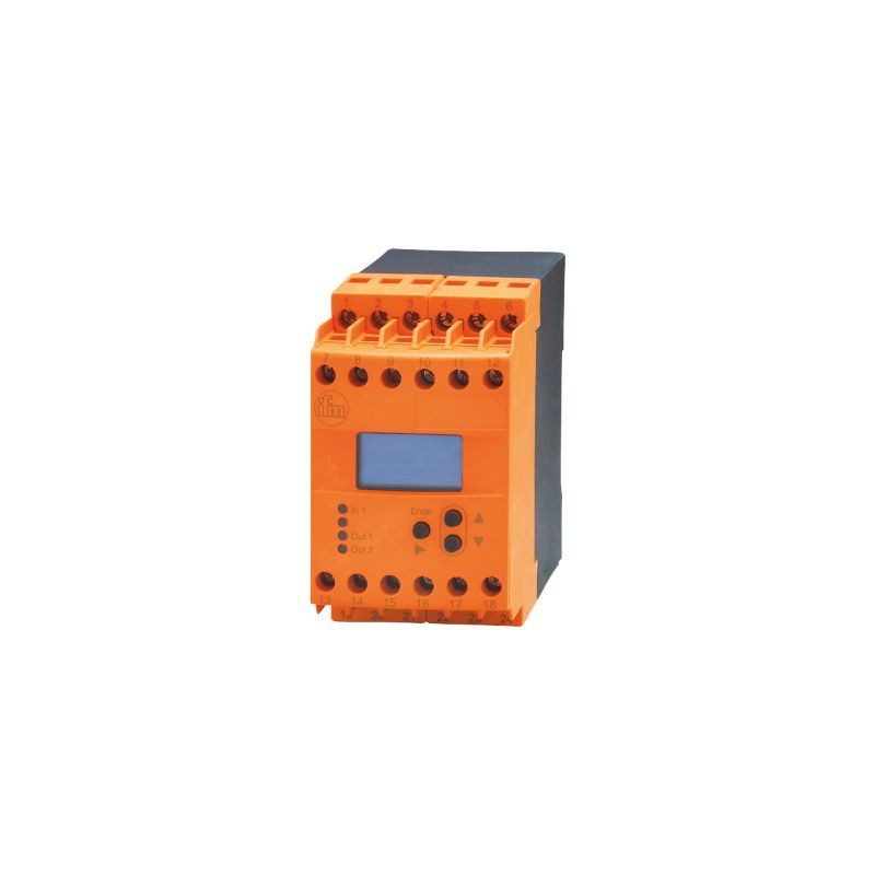 Ifm DD2104 FR-1N  Evaluation unit for speed monitoring