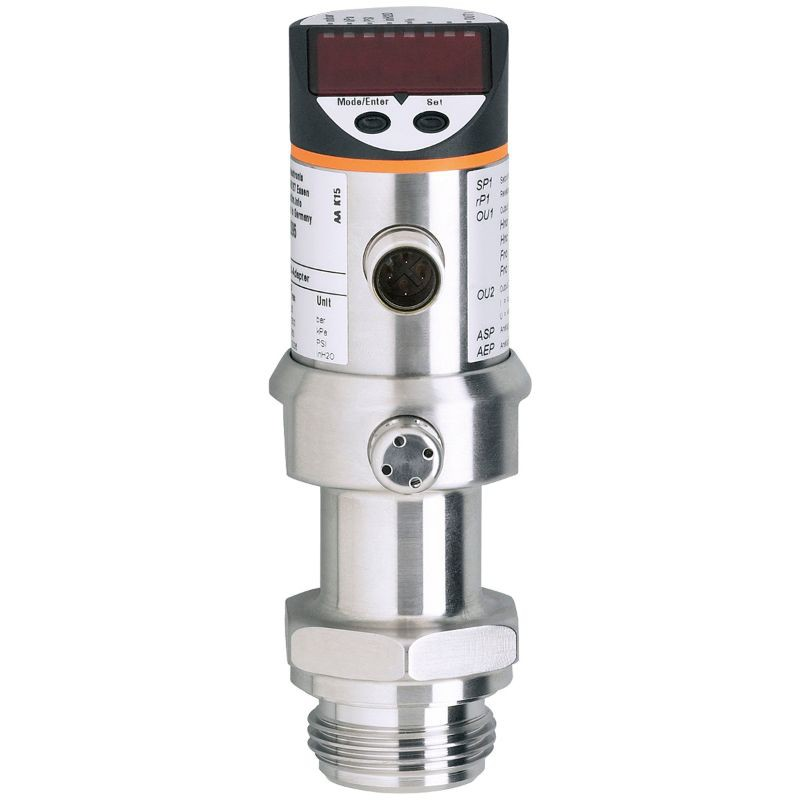 Ifm PI2056 PI-2,5-RES30-MFRKG/US/ /P Pressure Sensor