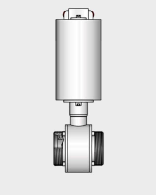 Kieselmann 4121 G-G   Straight-way Ball Valve