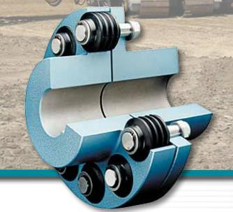 KWD BOKU, BOKU-N  Flexible Pin Type Coupling