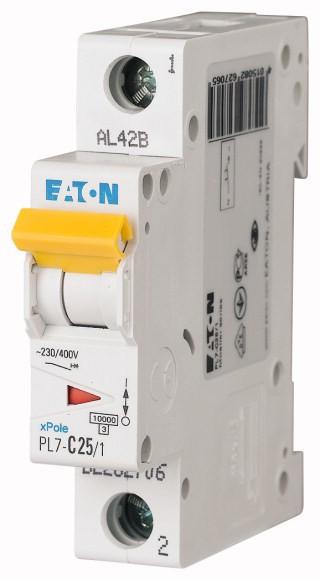 MOELLER XPOLE PL7 B25/1 Miniature circuit breaker