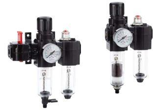 Norgren BL72-221G Filter Regulator / Lubricator