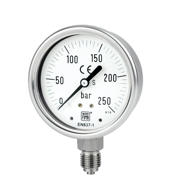 Nuovafima 1.18.1.A.E.---.AAFJ.43M Pressure Gauge
