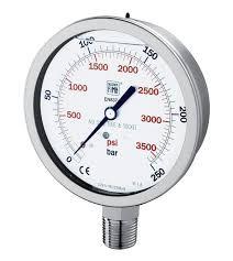 Nuovafima 1.44.2.A.E---AAFE.41M 0...16 Bar Manometer