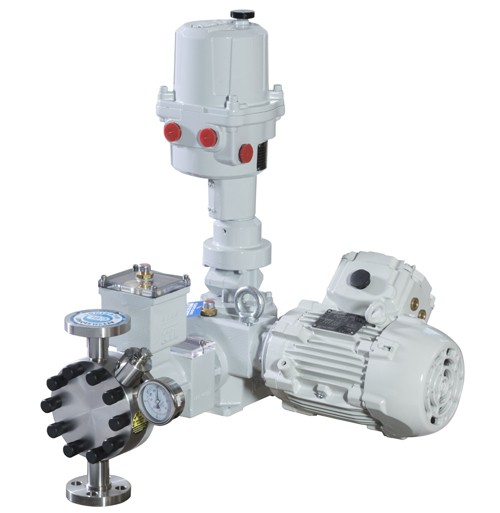 OBL LX9 Series  Process Diaphragm Metering Pumps