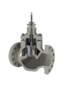 RBR Valvole GL3 Type  Cage Guided Globe Control Valve