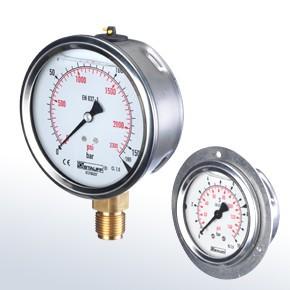 Stauff 1910000402 Pressure Gauge Spg-063-00600-01-P-B04