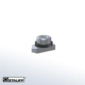 Stauff SMG-1-8/1D-M-W4 Hexagon Rail Nut