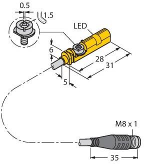 TURCK BIM-UNT-AP7X-0,3-PSG3S Magnetic Field Sensor