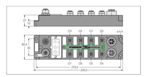 TURCK FXDP-IM16-0001 Fieldbus I/O module PROFIBUS-DP