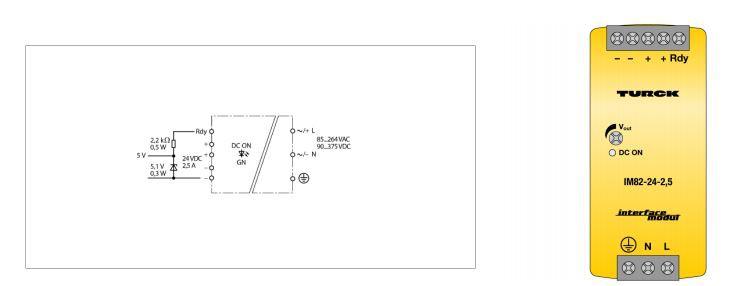TURCK IM82-24-2,5 Switching Power Supply