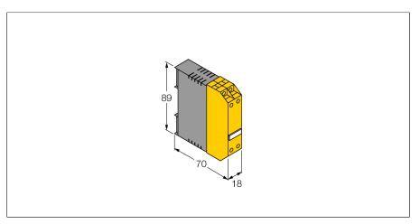 TURCK MK96-VP01 Flow Monitoring MK96 for Flow Sensors